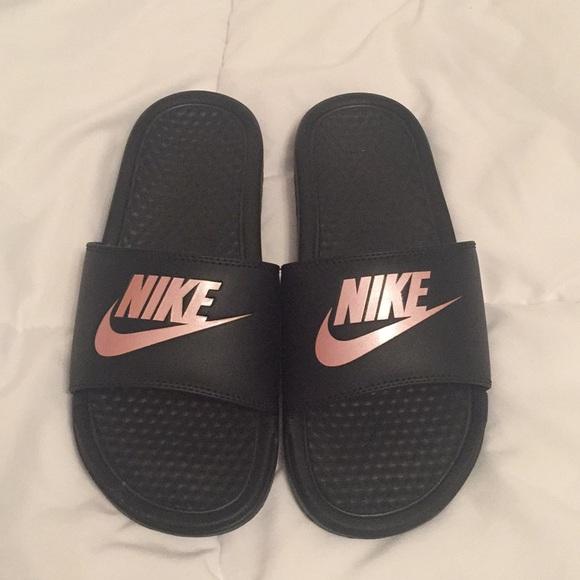 factory price fcffd 8c4ec Nike slides. Nike. WOMENS NWT NIKE SOLARSOFT THONG 2 SANDALS